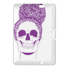 Purple Skull Bun Up Kindle Fire HDX 8.9  Hardshell Case