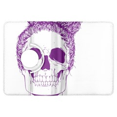Purple Skull Bun Up Kindle Fire HDX Flip 360 Case