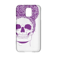 Purple Skull Bun Up Samsung Galaxy S5 Hardshell Case