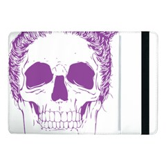 Purple Skull Bun Up Samsung Galaxy Tab Pro 10.1  Flip Case
