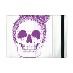 Purple Skull Bun Up Apple iPad Mini 2 Flip Case