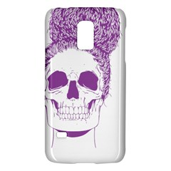 Purple Skull Bun Up Samsung Galaxy S5 Mini Hardshell Case