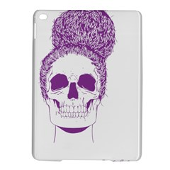 Purple Skull Bun Up Apple Ipad Air 2 Hardshell Case
