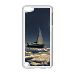 Navigating Trough Clouds Dreamy Collage Photography Apple iPod Touch 5 Case (White)
