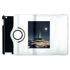Navigating Trough Clouds Dreamy Collage Photography Apple iPad 2 Flip 360 Case