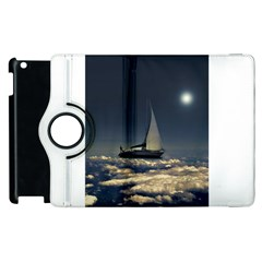 Navigating Trough Clouds Dreamy Collage Photography Apple Ipad 3/4 Flip 360 Case