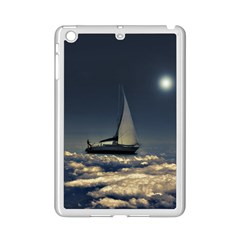 Navigating Trough Clouds Dreamy Collage Photography Apple Ipad Mini 2 Case (white)