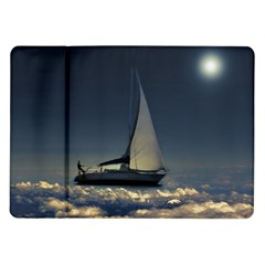 Navigating Trough Clouds Dreamy Collage Photography Samsung Galaxy Tab 10.1  P7500 Flip Case