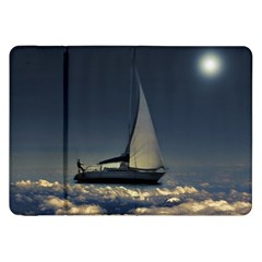 Navigating Trough Clouds Dreamy Collage Photography Samsung Galaxy Tab 8 9  P7300 Flip Case
