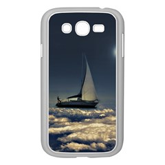 Navigating Trough Clouds Dreamy Collage Photography Samsung Galaxy Grand DUOS I9082 Case (White)