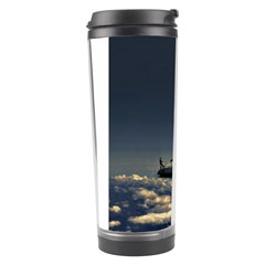 Navigating Trough Clouds Dreamy Collage Photography Travel Tumbler