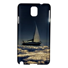 Navigating Trough Clouds Dreamy Collage Photography Samsung Galaxy Note 3 N9005 Hardshell Case