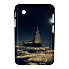 Navigating Trough Clouds Dreamy Collage Photography Samsung Galaxy Tab 2 (7 ) P3100 Hardshell Case