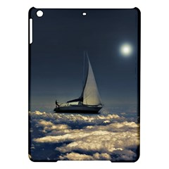 Navigating Trough Clouds Dreamy Collage Photography Apple iPad Air Hardshell Case