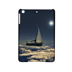 Navigating Trough Clouds Dreamy Collage Photography Apple iPad Mini 2 Hardshell Case