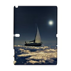 Navigating Trough Clouds Dreamy Collage Photography Samsung Galaxy Note 10.1 (P600) Hardshell Case