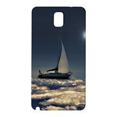 Navigating Trough Clouds Dreamy Collage Photography Samsung Galaxy Note 3 N9005 Hardshell Back Case