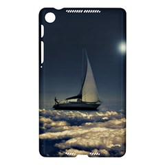 Navigating Trough Clouds Dreamy Collage Photography Google Nexus 7 (2013) Hardshell Case