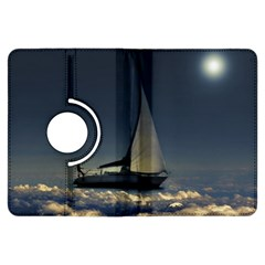 Navigating Trough Clouds Dreamy Collage Photography Kindle Fire HDX Flip 360 Case