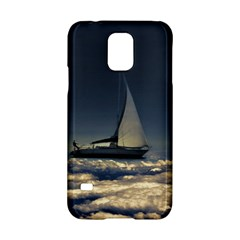 Navigating Trough Clouds Dreamy Collage Photography Samsung Galaxy S5 Hardshell Case
