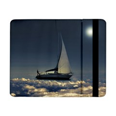 Navigating Trough Clouds Dreamy Collage Photography Samsung Galaxy Tab Pro 8.4  Flip Case