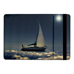 Navigating Trough Clouds Dreamy Collage Photography Samsung Galaxy Tab Pro 10.1  Flip Case