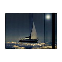 Navigating Trough Clouds Dreamy Collage Photography Apple Ipad Mini 2 Flip Case