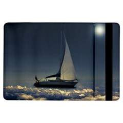 Navigating Trough Clouds Dreamy Collage Photography Apple Ipad Air Flip Case