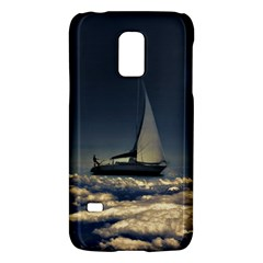 Navigating Trough Clouds Dreamy Collage Photography Samsung Galaxy S5 Mini Hardshell Case