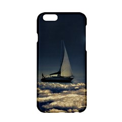 Navigating Trough Clouds Dreamy Collage Photography Apple iPhone 6 Hardshell Case