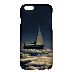 Navigating Trough Clouds Dreamy Collage Photography Apple iPhone 6 Plus Hardshell Case