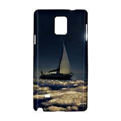 Navigating Trough Clouds Dreamy Collage Photography Samsung Galaxy Note 4 Hardshell Case
