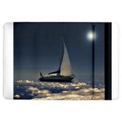 Navigating Trough Clouds Dreamy Collage Photography Apple iPad Air 2 Flip Case