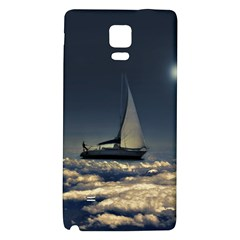 Navigating Trough Clouds Dreamy Collage Photography Samsung Note 4 Hardshell Back Case