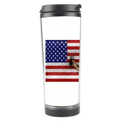 United States and Cuba Flags United Design Travel Tumbler