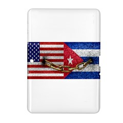 United States and Cuba Flags United Design Samsung Galaxy Tab 2 (10.1 ) P5100 Hardshell Case