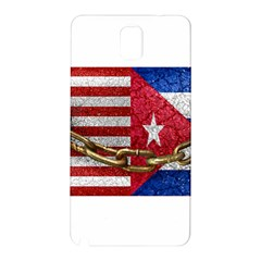 United States And Cuba Flags United Design Samsung Galaxy Note 3 N9005 Hardshell Back Case