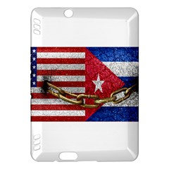 United States and Cuba Flags United Design Kindle Fire HDX Hardshell Case