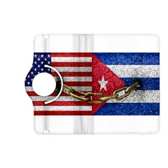 United States and Cuba Flags United Design Kindle Fire HD (2013) Flip 360 Case