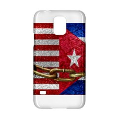 United States and Cuba Flags United Design Samsung Galaxy S5 Hardshell Case
