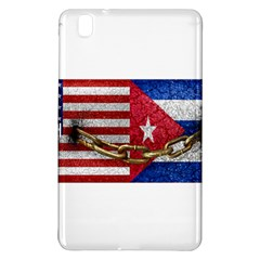 United States and Cuba Flags United Design Samsung Galaxy Tab Pro 8.4 Hardshell Case
