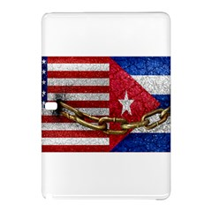 United States and Cuba Flags United Design Samsung Galaxy Tab Pro 12.2 Hardshell Case
