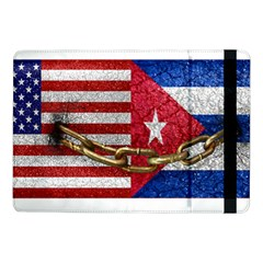 United States and Cuba Flags United Design Samsung Galaxy Tab Pro 10.1  Flip Case