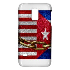United States And Cuba Flags United Design Samsung Galaxy S5 Mini Hardshell Case