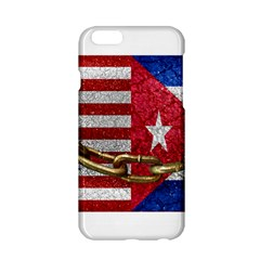 United States and Cuba Flags United Design Apple iPhone 6 Hardshell Case