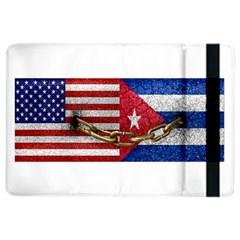 United States and Cuba Flags United Design Apple iPad Air 2 Flip Case