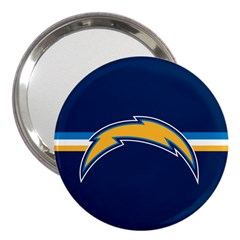 San Diego Chargers National Football League Nfl Teams Afc 3  Handbag Mirror