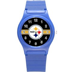 Pittsburgh Steelers National Football League Nfl Teams Afc Plastic Sport Watch (Small)