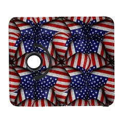Modern Usa Flag Pattern Samsung Galaxy S  Iii Flip 360 Case