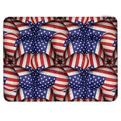 Modern Usa Flag Pattern Samsung Galaxy Tab 7  P1000 Flip Case
